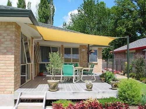 13 Cool Shade Sails for Your Backyard - CanopyKingpin.com on Shade Sail Backyard Ideas id=19338