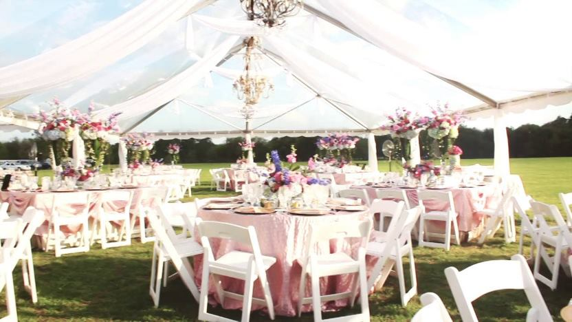 wedding decorations tents and drapes