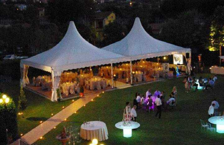 wedding tent ideas for decorations